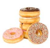 Stos donuts Zdjęcie Royalty Free