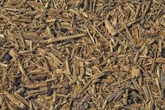 Stos drewniany trociny dla tła lub tekstury obrazy stock