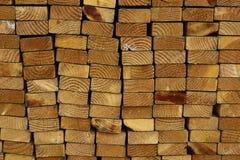 Stos drewno Zdjęcia Stock