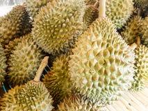 Stos Durian Zdjęcia Stock
