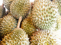 Stos Durian Fotografia Royalty Free