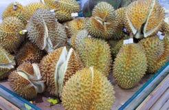 Stos Durian owoc Zdjęcia Royalty Free