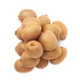 Stos kiwifruits odizolowywający Obraz Royalty Free