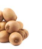 Stos kiwifruits odizolowywający Zdjęcie Royalty Free