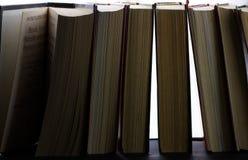 Stos książki w zakończeniu Obraz Royalty Free