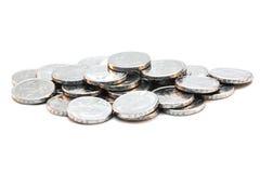 Stos monety Zdjęcia Royalty Free