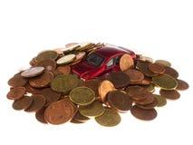 Stos monety Obraz Royalty Free