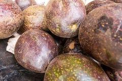 Stos organicznie avocadoes Fotografia Royalty Free