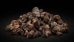 Stos Organicznie Wysuszony agrest (Ribes grossularia) Obrazy Stock