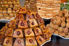 Stos orientalni cukierki. Obrazy Stock