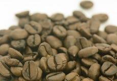 Stos piec kawowe fasole Zdjęcia Stock
