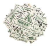Stos pieniądze Zdjęcia Royalty Free