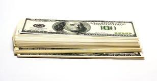 Stos pieniądze obraz royalty free
