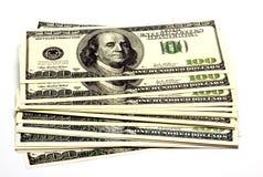 Stos pieniądze obrazy royalty free