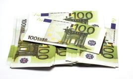 Stos pieniądze Zdjęcia Stock