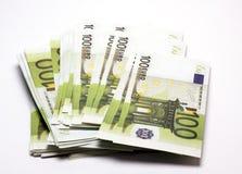 Stos pieniądze Zdjęcie Royalty Free