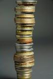 stos pieniędzy Zdjęcie Stock