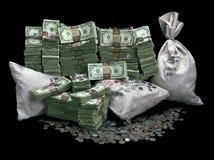 stos pieniędzy