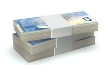 stos pieniędzy royalty ilustracja