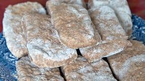 Stos pita chleby Obrazy Stock