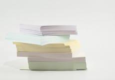 Stos poczta ja papier Obrazy Stock