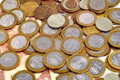 Stos rosyjskie monety Fotografia Royalty Free