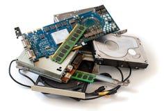 Stos stary komputer wymy?la obrazy royalty free