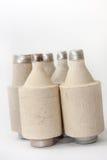 Stos starzy ceramiczni lonty Zdjęcie Royalty Free