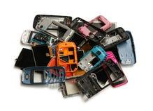 Stos telefonu komórkowego świstek zdjęcie royalty free