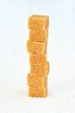 Stos trzcina cukieru sześciany Zdjęcie Royalty Free