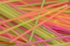 Stos Wielo- Coloured klingeryt Pije słoma Zdjęcia Royalty Free
