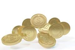 stos złota monety Obrazy Royalty Free