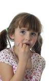 stosować dziewczyny glosy wargę trochę obrazy stock