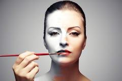 stosować makeup Obraz Stock