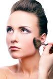 Stosować szminkę Zdjęcie Royalty Free