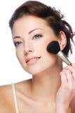 stosować szminki kobiety Obraz Royalty Free