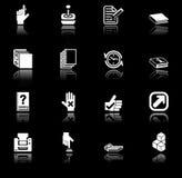 stosowanie ikony serię ustalić Obrazy Stock