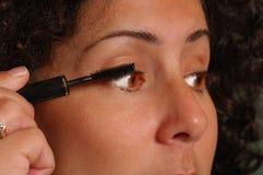 stosowanie makijaż Zdjęcie Royalty Free