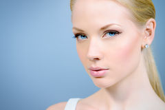 stosowanie opieki skóry przejrzystego lakier obraz royalty free