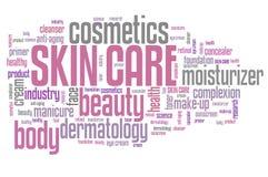 stosowanie opieki skóry przejrzystego lakier Fotografia Royalty Free