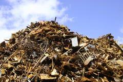 stosu złomu metali Fotografia Stock