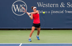 Stosur 012. Mason, Ohio - August 17, 2015: Samantha Stosur at the Western and Southern Open in Mason, Ohio, on August 17, 2015 Stock Images