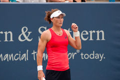 Stosur 008. Mason, Ohio - August 17, 2015: Samantha Stosur at the Western and Southern Open in Mason, Ohio, on August 17, 2015 Stock Images