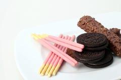 Stosy czekolada Zdjęcie Stock