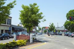 Stoughton, Massachusetts, de V.S. royalty-vrije stock afbeelding