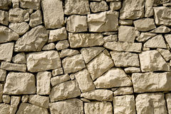 The stoun wall. The masonry of stoun wall Royalty Free Stock Photos