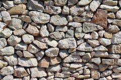 The stoun wall. The masonry of stoun wall Stock Images