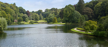 Stourhead Garden and Lake Royalty Free Stock Image