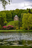 Stourhead - lac et Panthéon Photo stock
