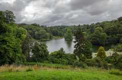 Stourhead lake, Wiltshire, England Stock Images